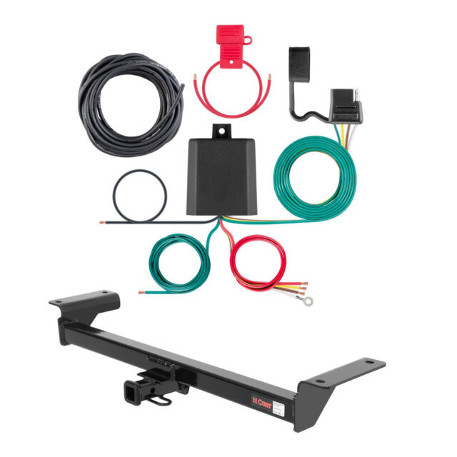 Curt Class 2 Trailer Hitch & Wiring For 2007-2009 Acura