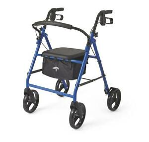 Medline-Basic-Steel-Rollator-with-8-034-Wheels-Available-in-Red-Green-or-Blue
