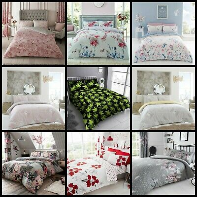 King Brand New Duvet Set Quilt Cover In Single S.King Size Double