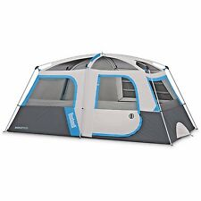 Camping Tent Outdoor Waterproof Cabin 8 Person Family Base Hiking Rooms Doors