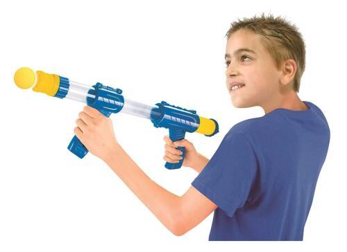 POMPA per bambini Outdoor sparatutto azione Popper Morbida Schiuma Palla TIRO PISTOLA UK