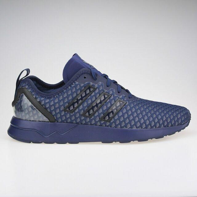 Mens Adidas Originals ZX Flux ADV Trainer Shoes Navy Blue AQ6752 UK 6.5 7.5 8.5