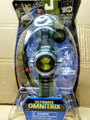 Bandai Ben 10 Alien Force Ultimate Omnitrix Light /& Sound Active Alien Voice