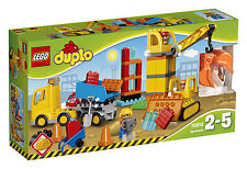 LEGO ® DUPLO ® 10813 grande Cantiere. NUOVO OVP _ BIG construction site NEW MISB NRFB