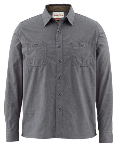 Nightfall Simms Black/'s Ford Flannel Shirt XL Free US Shipping CLOSEOUT