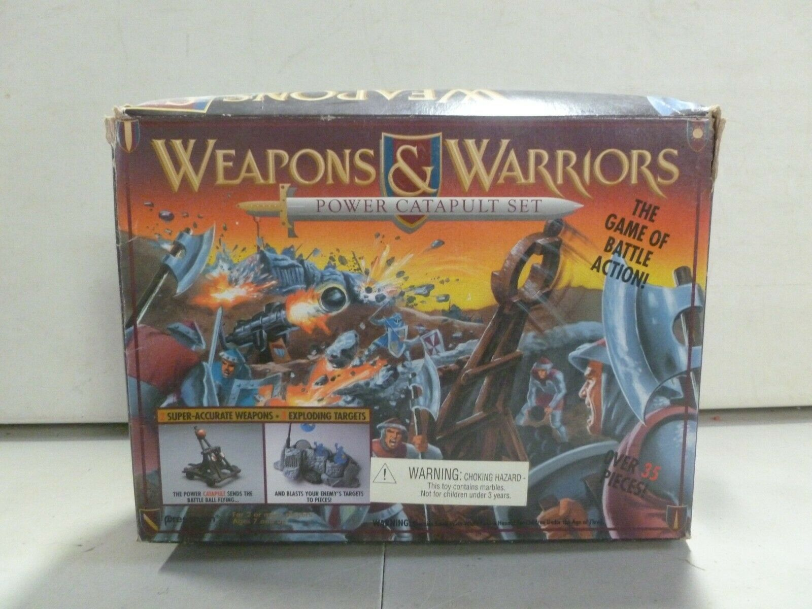 1994 Pressman Weapons and Warriors Power Catapult Set