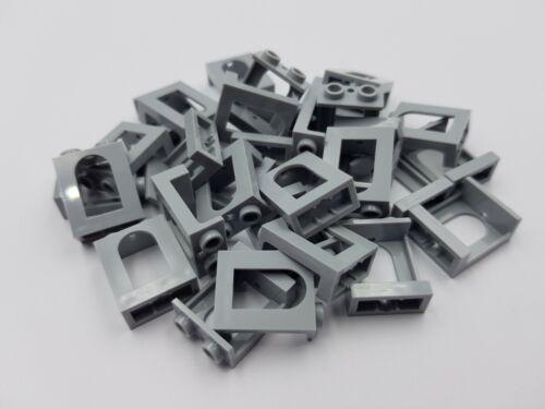 gris azulado Lego 90195 Ventana de 1 X 2 X 2 luz Castillo