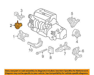 Honda Oem 03 06 Element Engine Motor Mount Torque Strut 50821scva02 Ebay