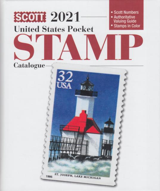 Scott 2021 United States Pocket Stamp Catalogue. NEW.