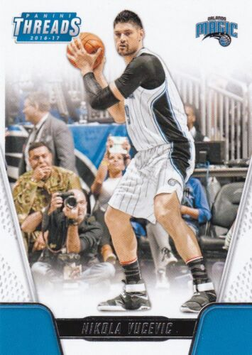 #87 Nikola Vucevic  2016-17 Panini Threads Basketball Sammelkarte