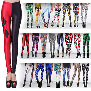 dc4d3eac950 Details about Sexy Fashion Lady Pattern Printed Hot Womens Stretch Tight  Leggings Skinny Pants