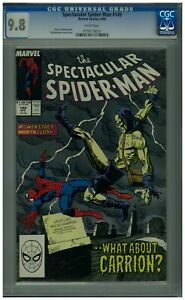 Spectacular-Spider-Man-149-CGC-9-8-White-Pages-Carrion-Appearance-April-1989
