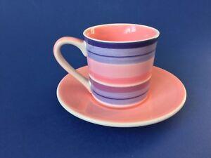 Whittard-of-Chelsea-Pink-amp-Purple-Stripe-Espresso-Cup-amp-Saucer