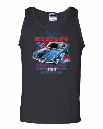 Ford Mustang Cobra 1968 Tank Top United We Stang American Classic Sleeveless