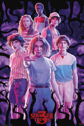 Stranger Things Group Eleven Will Maxi Poster Print 61x91.5cm24x36 inches
