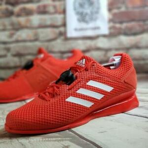 Details about Adidas Leistung 16 II BOA Red White Weightlifting Shoes BD7161 Size 13.5 NEW