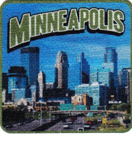 MINNEAPOLIS Iron On Printed Patch Minnesota