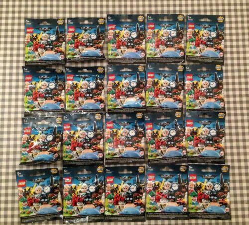 Lego batman movie series 2 complete set of 20 minifigures unopened sealed