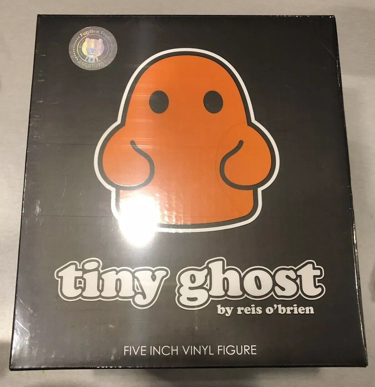 arancia GITD Tiny Ghost cifra Glow Fugitive giocattoli NYCC 2019 Exclusive IN He