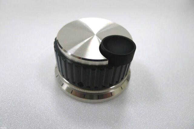 """Spinner Knob with Finger Divot 2 1/8""""  Diameter for Antenna Tuner"""