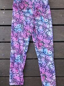 061f15f69 NEW Girls Kids Children Hello kitty Pink Cotton Cute Slim Leggings ...