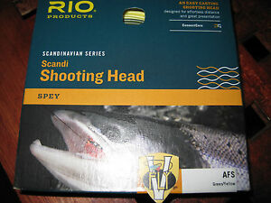 RIO SCANDI SHOOTING HEAD SALMON FLY LINE SHORT HEAD SPEY