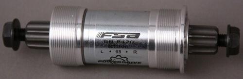 FSA PD 8420AL Power Drive Bottom Bracket 68x108mm w//bolts New in Box