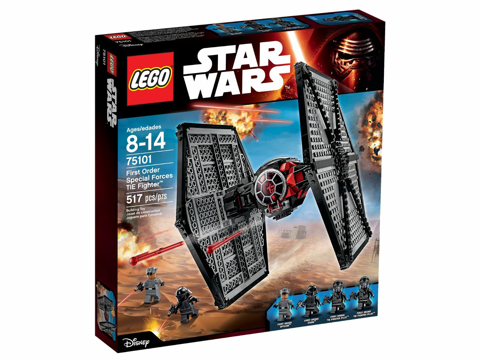 Lego 75101 Star Wars First Order Special Forces Tie Fighter neuf -CNB6