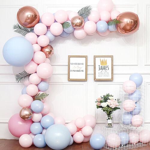 10Pcs 5//10//12inch Macaron Balloons Pastel Candy Latex Balloon Air Globos Party