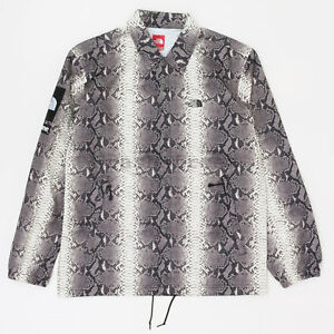 4a55c8f044782b Supreme SS18 The North Face Snakeskin Taped Seam Coaches Jacket ...