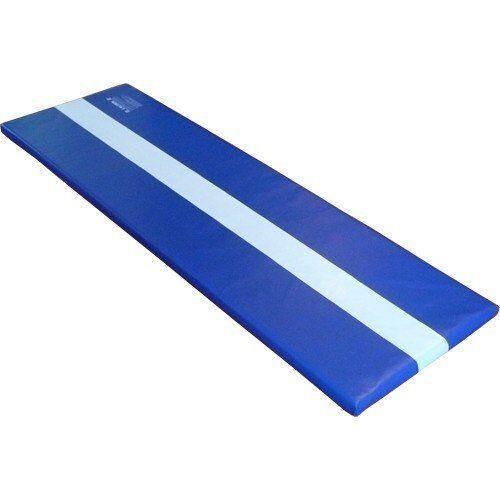 We Sell Mats Portable Cartwheel Exercise Tumbling Mat, blueE