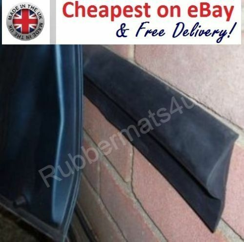 4 pcs x 2ft Solid Rubber Garage Car Door Protector Wall BUFFER GUARD Adhesive