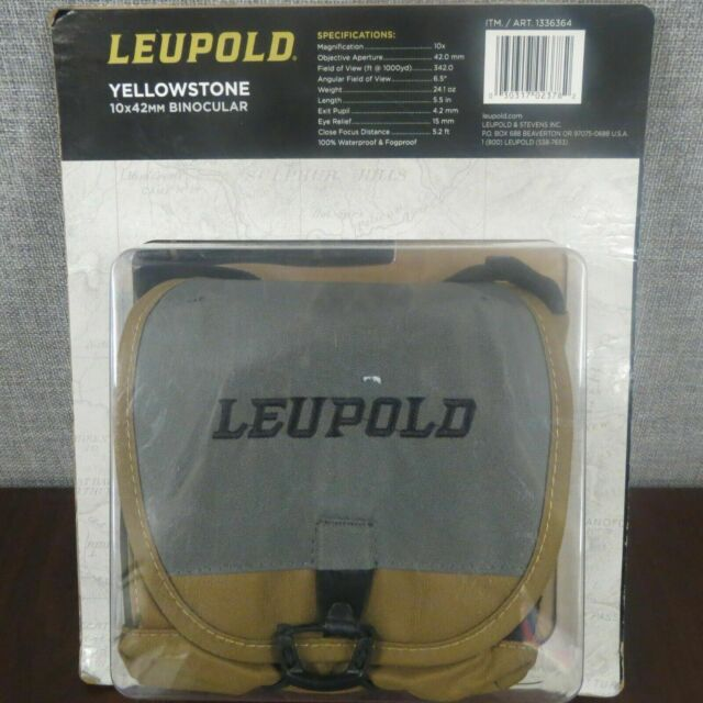 Leupold Yellowstone 10 X 42mm Binocular W  Harness