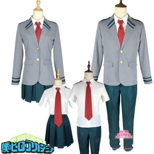 My Boku no Hero Academia School Uniform Coat Shirt Skirt Pants Cosplay Costume