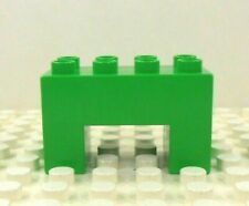 """1 Lego Duplo Item Arch 2x4 2/"""" Tall Lime Green"""