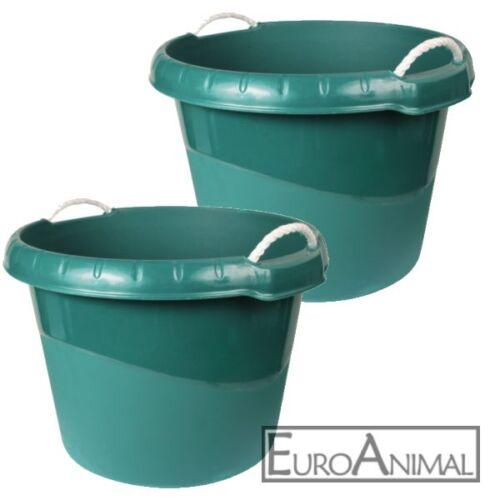 Wassertrog Futtertrog ca 45 Liter Wassereimer Futtereimer Weidetrog Stalleimer