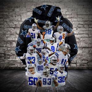 timeless design c3165 5d950 Dallas Cowboys Fans Hoodie 3D Print Women/Men Hoodie ...