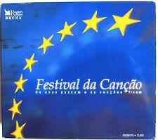 """EUROVISION: VERY RARE PORTUGUESE 5 CDS BOX """"FESTIVAL DA CANÇAO"""""""