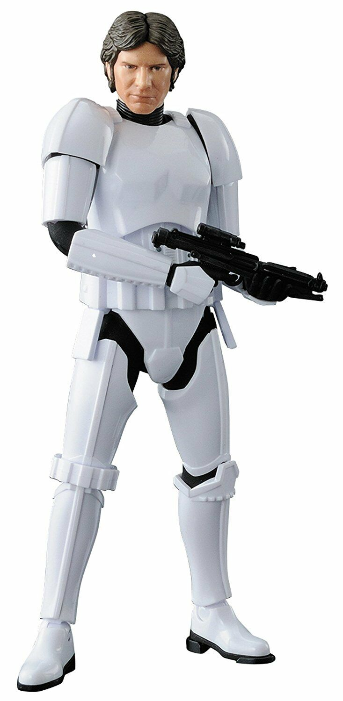 NEW Star Wars Han Solo Storm Trooper Ver. 1 12 Plastic model Japan Import