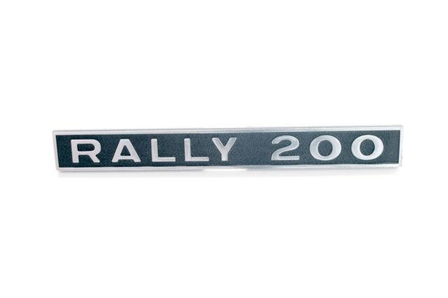 """5767 - TARGHETTA """"RALLY 200"""" POSTERIORE PER VESPA"""