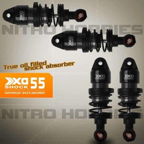 Gmade GM22507 XD Diaphragm Shock 55mm 4pcs 1//10 Onroad Cars