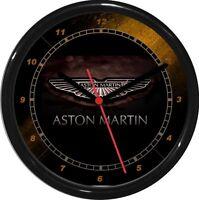 Aston Martin Wall Clock 10 Garage Work Shop Gift Father's Day Man Cave Den