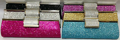 Women Girl Evening Clutch Purse Bag Wedding Party Handbag Bags With Chain Ladies