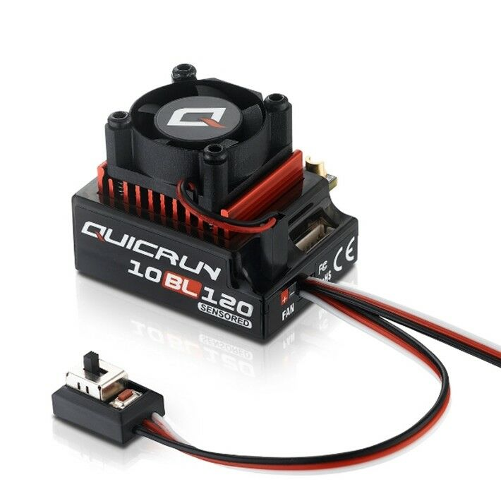 HobbyWing Quicrun 10Bl120 Sensored Brushless Esc (120A) HW30125000