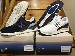 Details about New Balance X End Clothing X90 Dusk Set Size 10.5 White And Black