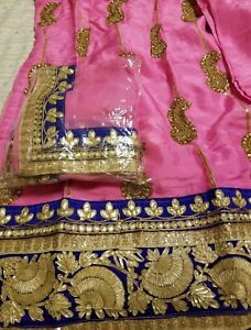 fc5c6f19954e7b Brand New Punjabi suit patiala salwar suit gota patti embroidery ...