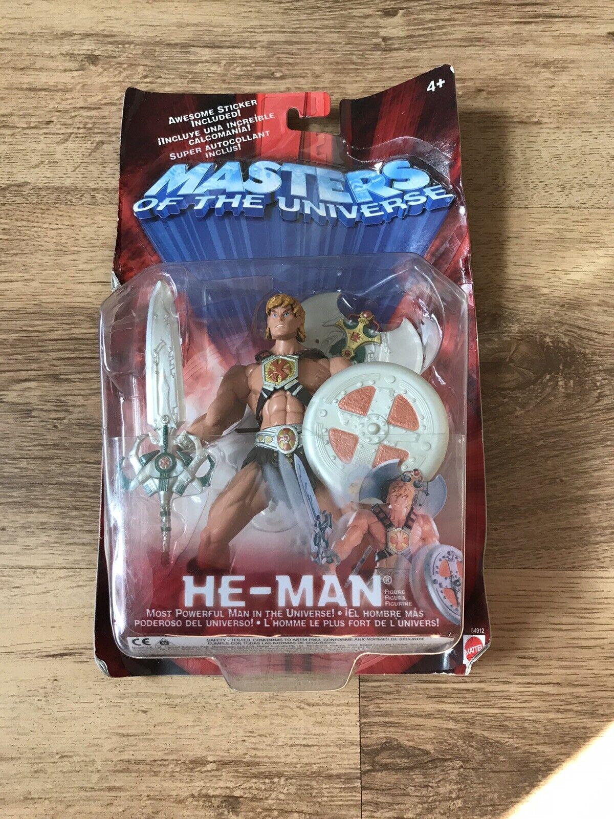 Mattel Masters of the Universe HE-MAN Basic Wirkung Figure MOC, 2002