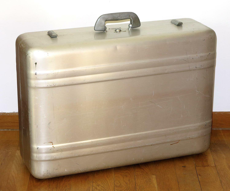Superbe valise authentique Zero Halliburton Heritage Aluminum