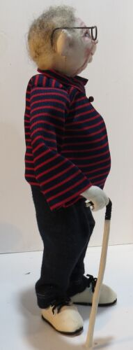 """*NEW* CLOTH ART DOLL PAPER PATTERN /""""BABY BOOMER BRIAN/"""" BY SHARON MITCHELL"""