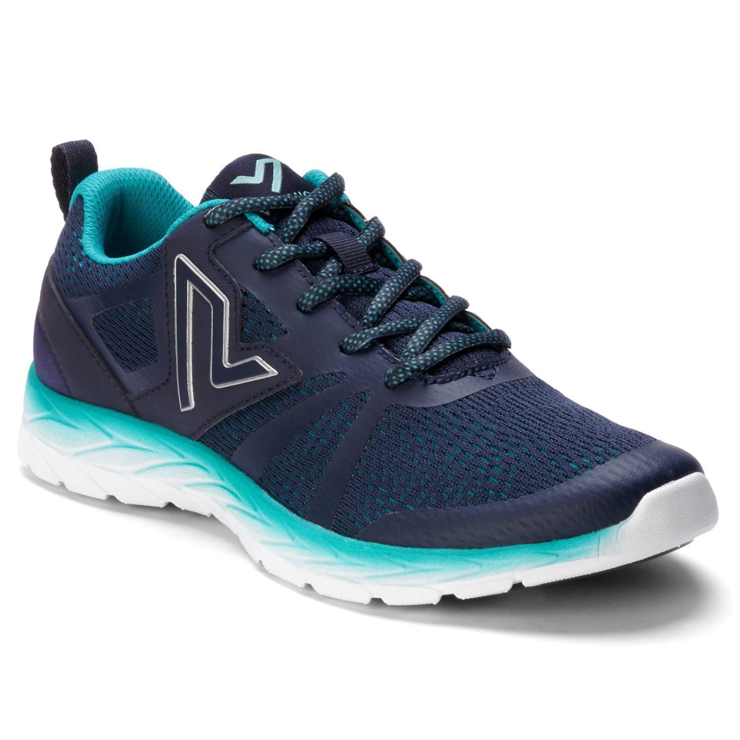 Vionic Brisk Miles bluee Teal Womens Athletic Mesh Trainers